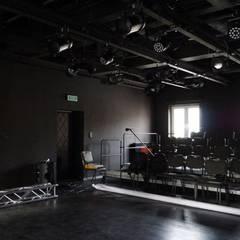 Rustic style event venues by DRESLER STUDIO ARCHITEKTURA I URBANISTYKA sp. zo.o. sp. komandytowa Rustic Bricks