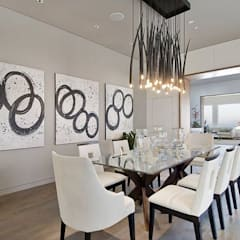 Waterfall Estate Ideas:  Dining room by GSI Interior Design & Manufacture,