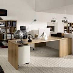Waterfall Estate Ideas:  Study/office by GSI Interior Design & Manufacture,
