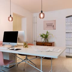 Carlo Berlin Architektur & Interior Design:  Study/office by Pamela Kilcoyne - Homify