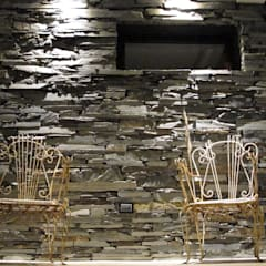 Casa M2 - Estudio Fernandez+Mego: Terrazas de estilo  por Estudio Fernández+Mego