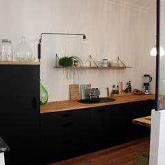 La cuisine: Cuisine de style de style eclectique par Fabrick d'Architecture Nantaise