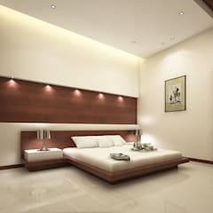 room2: modern Bedroom by A Mans Creation