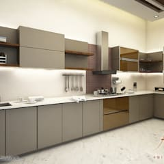 kitchen: modern Kitchen by A Mans Creation
