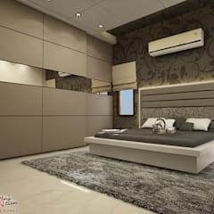 hospital:  Bedroom by A Mans Creation,Modern