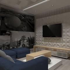 Media room by AurEa 34 -Arquitectura tu Espacio-