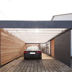 Garage/shed by Architekt Armin Hägele
