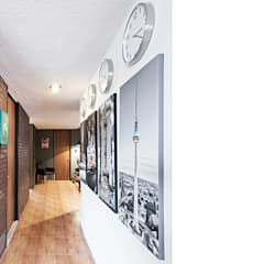 ระเบียงและโถงทางเดิน by MX Taller de Arquitectura & Diseño