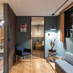 Corridor & hallway by MX Taller de Arquitectura & Diseño, Industrial
