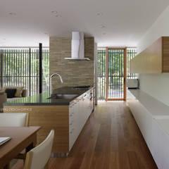 آشپزخانه توسطatelier137 ARCHITECTURAL DESIGN OFFICE, مدرن ام دی اف