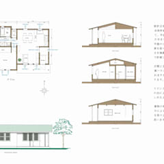 Wooden houses by アース・アーキテクツ一級建築士事務所