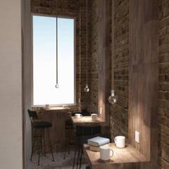 Press Coffee | Bride Street: Bar & Club in stile  di OverAlls architecture