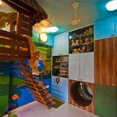 aparment 801:  Nursery/kid's room by iSTUDIO Architecture