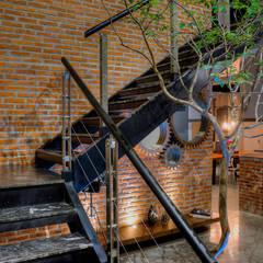 Corridor & hallway by Con Contenedores S.A. de C.V., Industrial