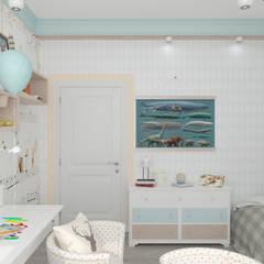 Nursery/kid's room by Студия дизайна Дарьи Одарюк