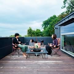 鎌倉玉縄テラス: HAN環境・建築設計事務所が手掛けた庭です。