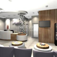 przychodnia ginekologiczna: styl , w kategorii Kliniki zaprojektowany przez marta sergiej - wnętrza