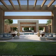 حديقة تنفيذ Lanza Arquitetos, حداثي المرو أو الكوارتز