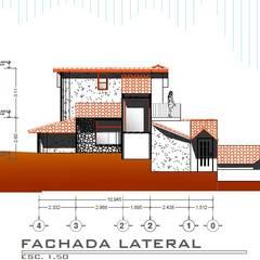 Casa Rojas: Casas de estilo  por Arquitecto Eduardo Carrasquero, Rústico