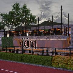 Viking: Restaurantes de estilo  por NOGARQ C.A.