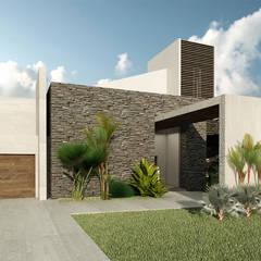 Villa Arellano: Casas de estilo  por NOGARQ C.A.,