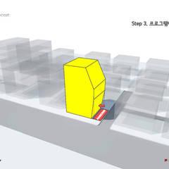 장전동 상가주택 '화양연화(花樣年華)': 민 아키텍츠 건축사사무소의  ,