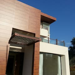 Exterior Massing:  Houses by NOOR Architects Consultants