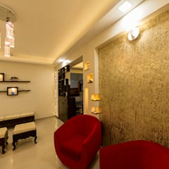 Home at Vishrantwadi:  Walls by Navmiti Designs