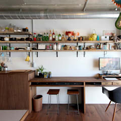vintage×sozai: nuリノベーションが手掛けたキッチンです。