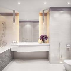 Сергиев Посад: Ванные комнаты в . Автор – Студия Марии Боровской
