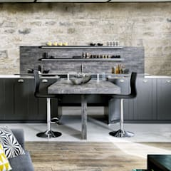 Cocinas de estilo  por Schmidt Küchen, Industrial