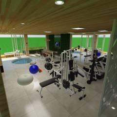 Projeto Spa Fitness Spa minimalista por Juliana Pires Arquitetura e Paisagismo Minimalista