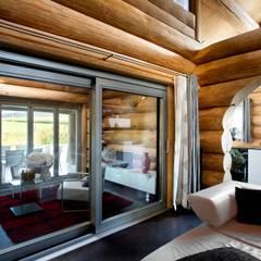 Ventanas de estilo  por Kneer GmbH, Fenster und Türen, Rústico