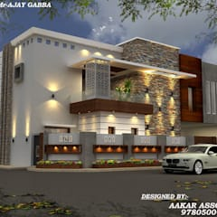 projets:  Houses by aakarconstructions