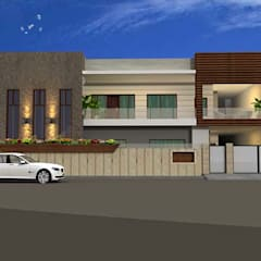 projets:  Houses by aakarconstructions,