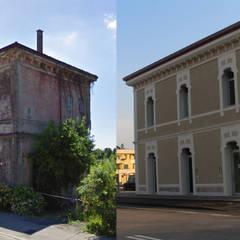 Prima e Dopo: Scuole in stile  di Eleni Decor
