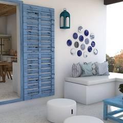 Ibizan house: Casas de estilo rural de Blophome