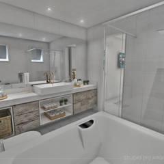 حمام تنفيذ Studio M Arquitetura