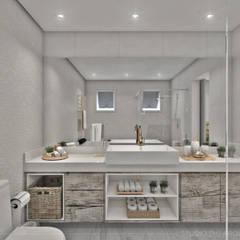 ห้องน้ำ by Studio M Arquitetura