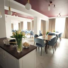 Kawiarnia : styl , w kategorii Gastronomia zaprojektowany przez Musiał Studio