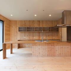 キッチンカウンター: 中村建築研究室 エヌラボ(n-lab)が手掛けたキッチンです。