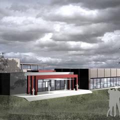 Centrum konferencyjne w Oblęgorku: styl , w kategorii Centra kongresowe zaprojektowany przez PA FORMAT