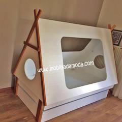 MOBİLYADA MODA  – Yavru Yataklı Çadır Karyola:  tarz Çocuk Odası