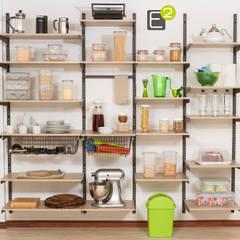 Despensa: Cocinas de estilo  por Espacio al Cuadrado