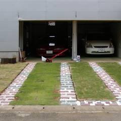 車好きで庭好き: 石井淳アトリエが手掛けた庭です。