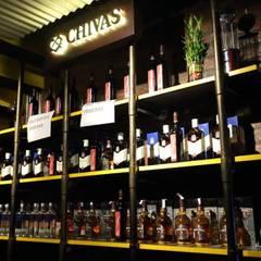 PK TUNN RESTOBAR,LUDHIANA: industrial Wine cellar by Ingenious