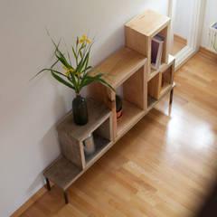 Zweite Privatwohnung Potsdam :  Wohnzimmer von woodboom