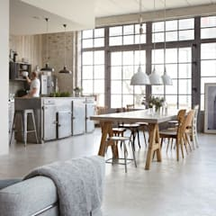 Dining room by Design for Love, Industrial