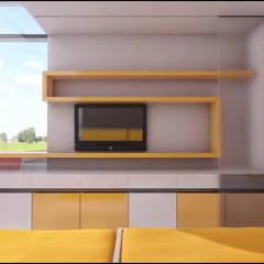 Casa Nordelta : Dormitorios infantiles de estilo minimalista por LIMMIT