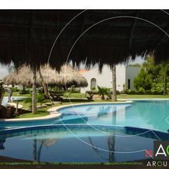 استخر by AQ3 Arquitectos